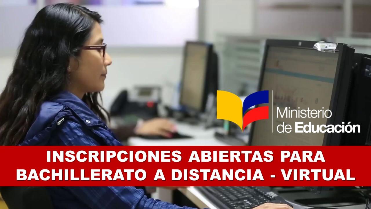 Inscripciones Abiertas para Bachillerato a Distancia – Virtual